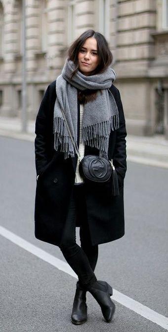 Объемные шарфы | 8 модных уроков, которые вы выучите, живя в Москве | Her Beauty