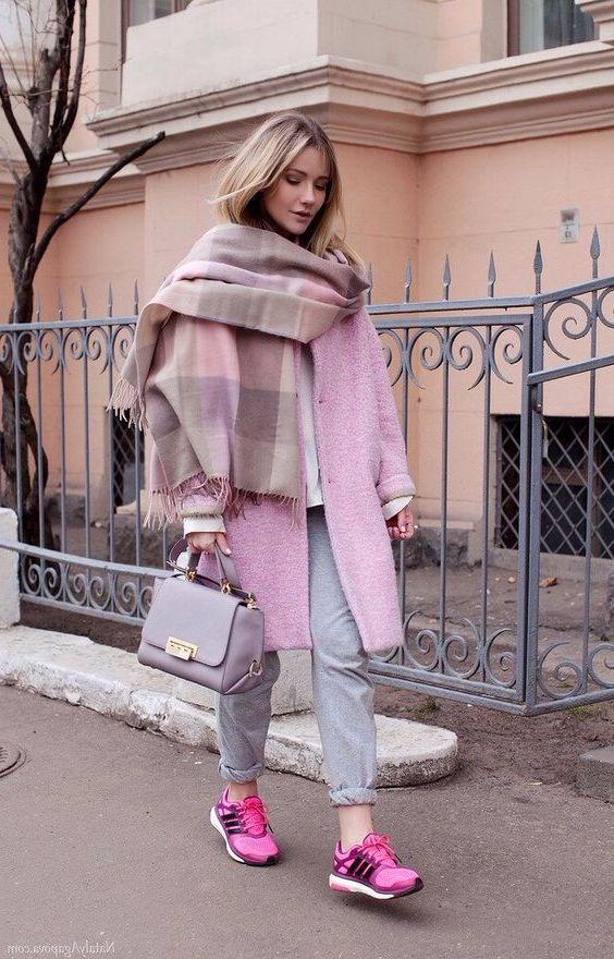 Объемные шарфы #2 | 8 модных уроков, которые вы выучите, живя в Москве | Her Beauty