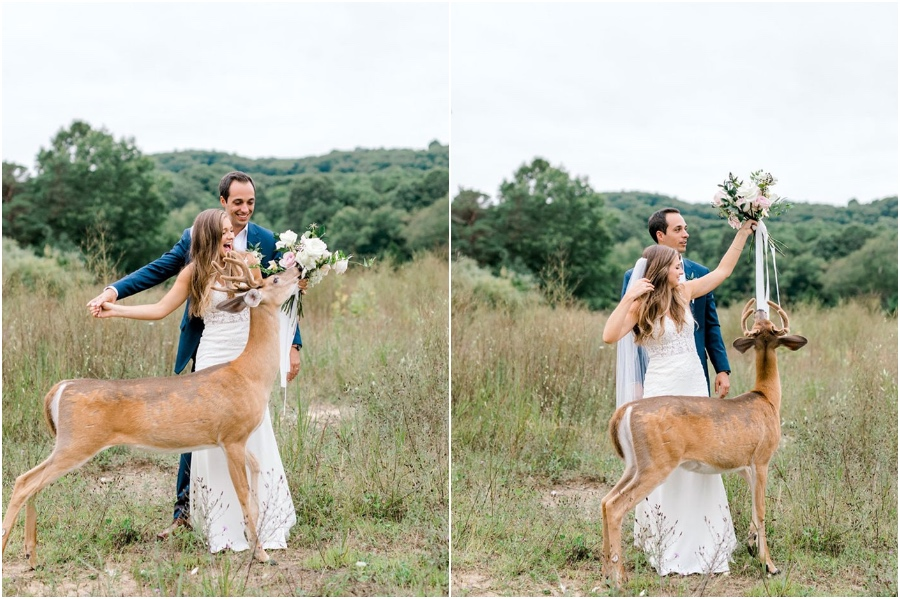 A Wedding Photoshoot To Remember Gets Interrupted By A Deer #5 | Her Beauty
