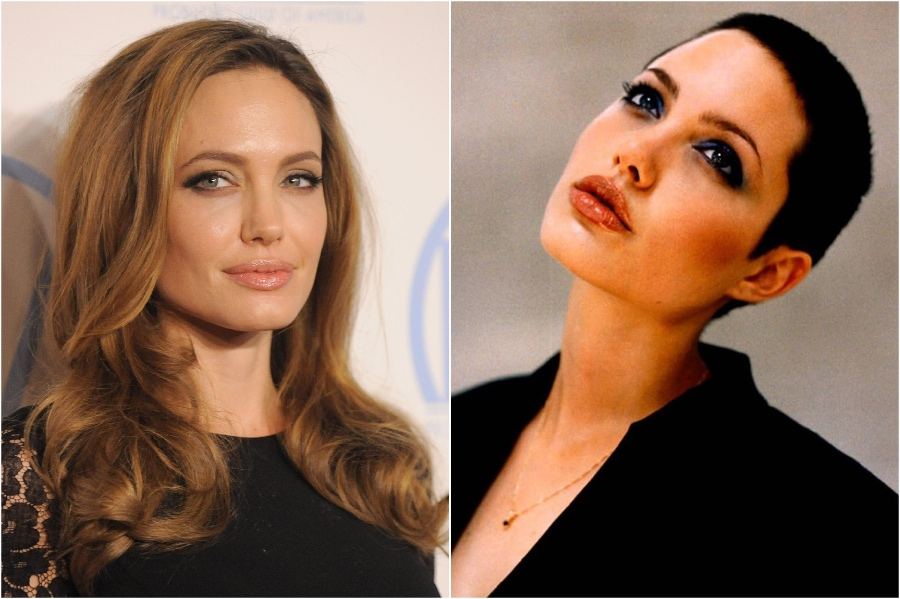 Angelina Jolie   15 Stars That Shaved Their Head And Rocked It   Her Beauty