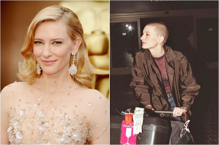 Cate Blanchett | 15 Stars That Shaved Their Head And Rocked It | Her Beauty