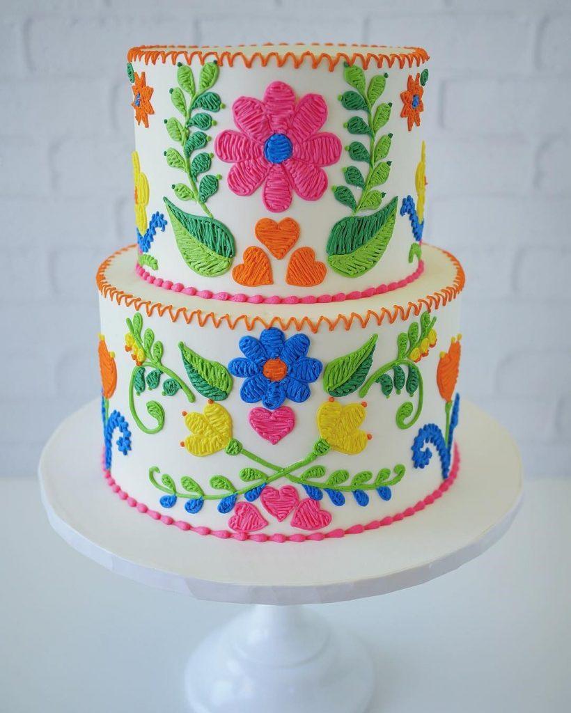 Embroidery Cakes byLeslie Vigil Will Bring You joy #2 | HerBeauty