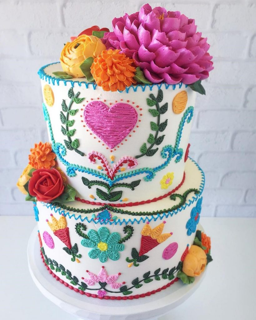 Embroidery Cakes byLeslie Vigil Will Bring You joy #5 | HerBeauty