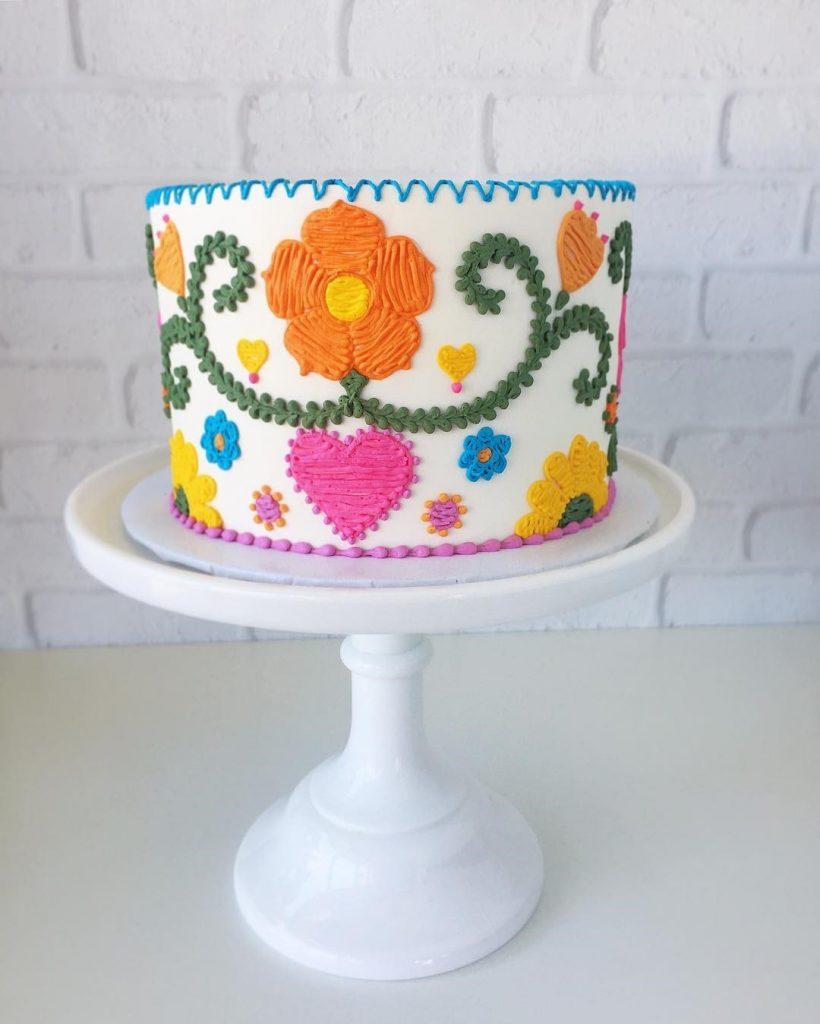 Embroidery Cakes byLeslie Vigil Will Bring You joy #7 | HerBeauty