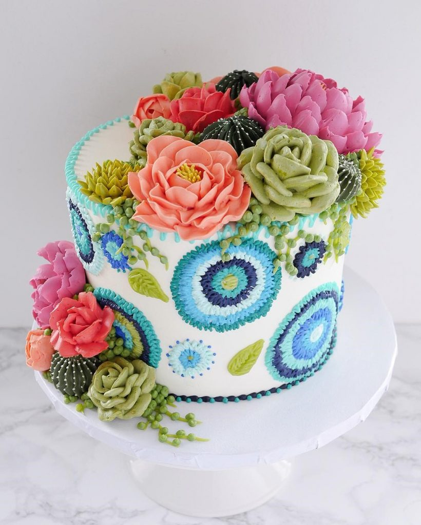 Embroidery Cakes byLeslie Vigil Will Bring You joy #9 | HerBeauty