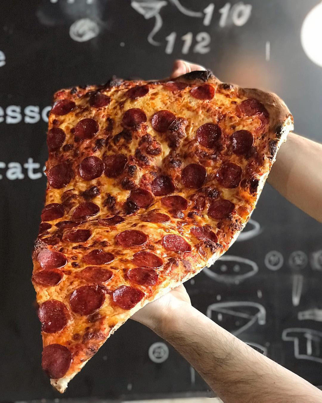 Creative pizza combinations   New Foodie Trend Is A Giant Pizza Slice – The Biggest You've Seen   Her Beauty
