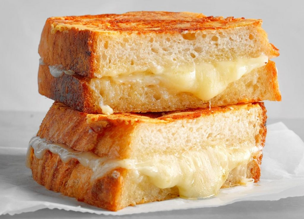 Grilled Cheese (America) | 11 Comfort Foods From Around The World | Her Beauty
