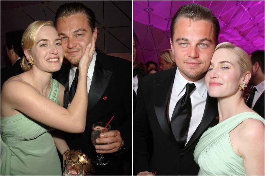 2007 Golden Globes | A Beautiful Friendship: Kate Winslet and Leonardo DiCaprio | Her Beauty