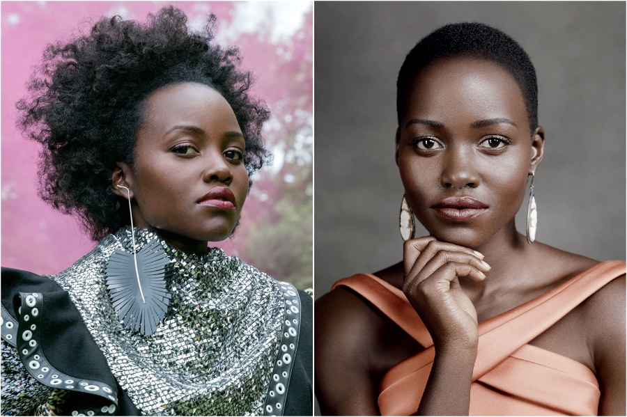 Lupita Nyong'o | 15 Stars That Shaved Their Head And Rocked It | Her Beauty