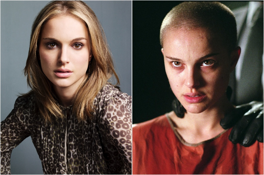 Natalie Portman | 15 Stars That Shaved Their Head And Rocked It | Her Beauty