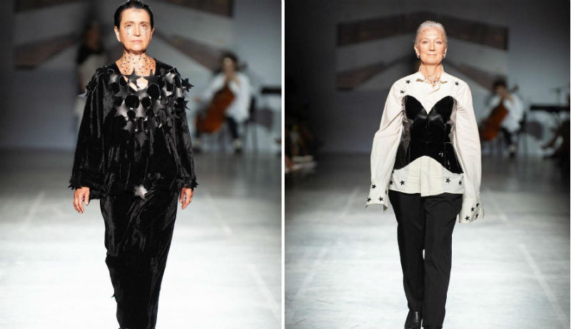Only Models Aged 50+ Walked This Runway At UFW And It Was Glorious | Her Beauty