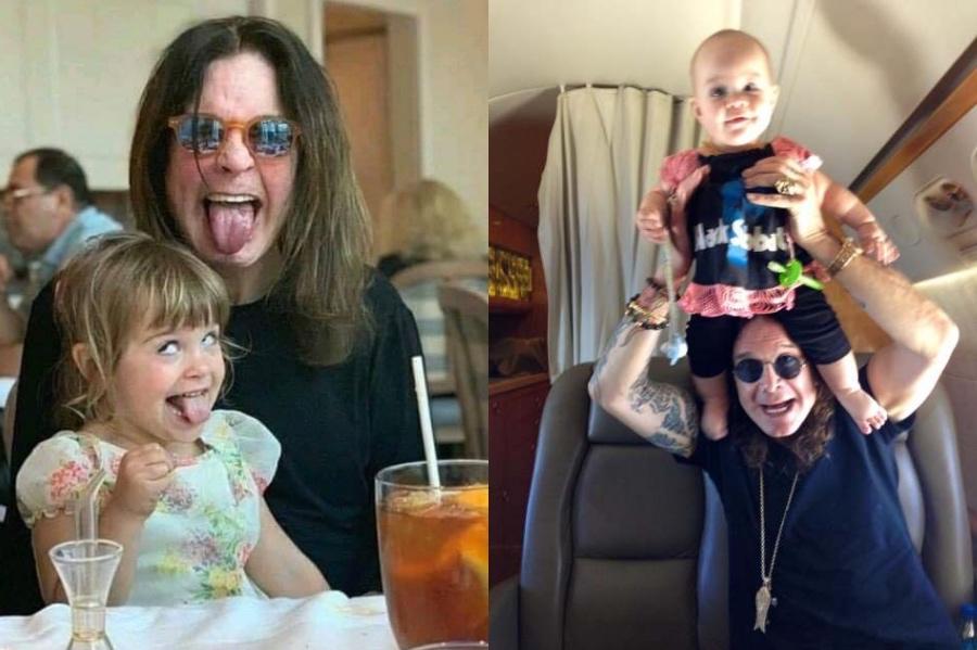 Ozzy Osbourne | 12 Celebrity Grandpas With Their Grandchildren Will Melt Your Heart | Her Beauty