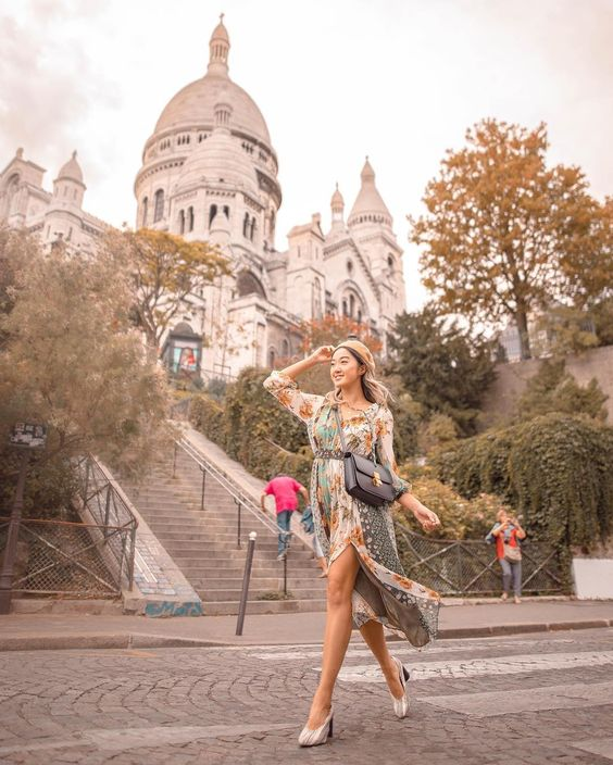 Sacre-Coeur (Sacred Heart) Basilica of Montmartre   8 Best Places to Visit in Paris   Her Beauty