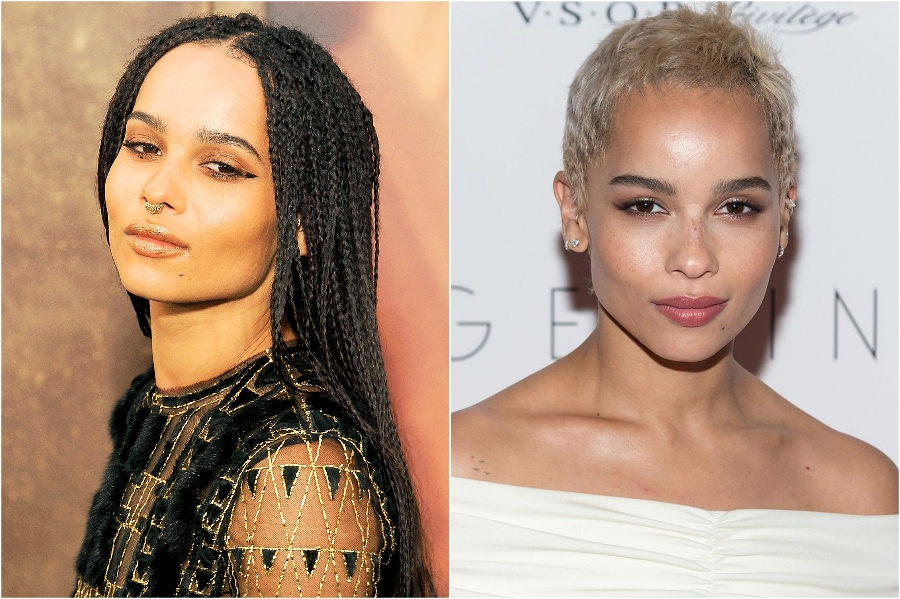 Zoë Kravitz | 15 Stars That Shaved Their Head And Rocked It | Her Beauty