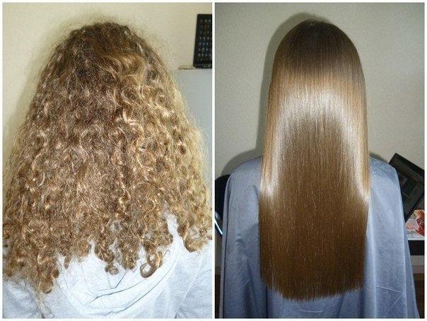 Как долго сохраняется результат?   Все о кератиновом выпрямлении волос   Her Beauty