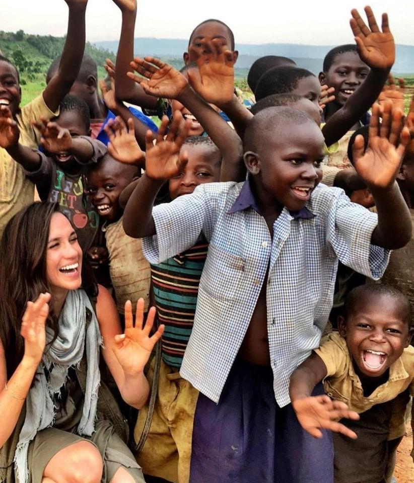 Благотворительная деятельность | Лично Меган Маркл: биография голливудской Золушки в фотографиях | Her Beauty