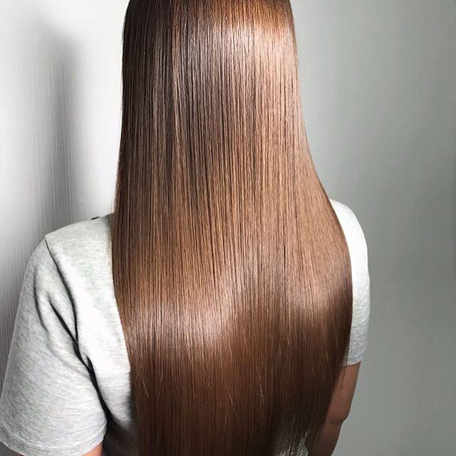 Процедура   Все о кератиновом выпрямлении волос   Her Beauty