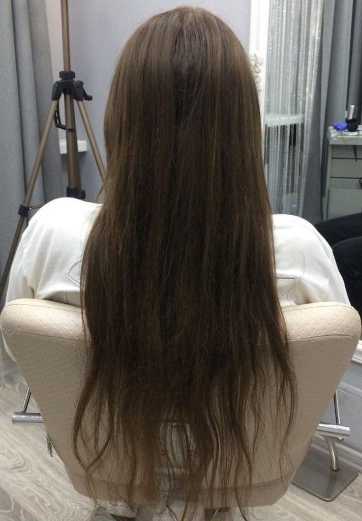 До выпрямления  Все о кератиновом выпрямлении волос   Her Beauty