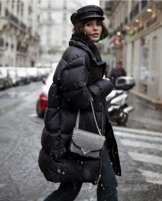 Stylish puffer coat | 15 Fashion Lessons You Only Learn While Living in New York City | Her Beauty