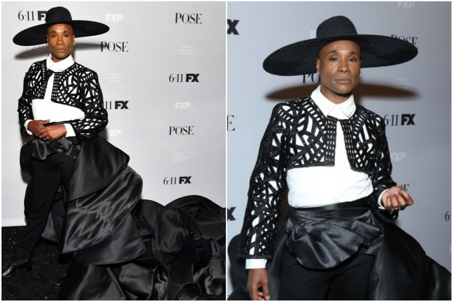 Billy Porter #3 | Fashion Won't Be Genderless Until Men Wear Skirts | HerBeauty