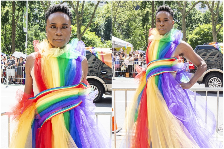 Billy Porter #4 | Fashion Won't Be Genderless Until Men Wear Skirts | HerBeauty