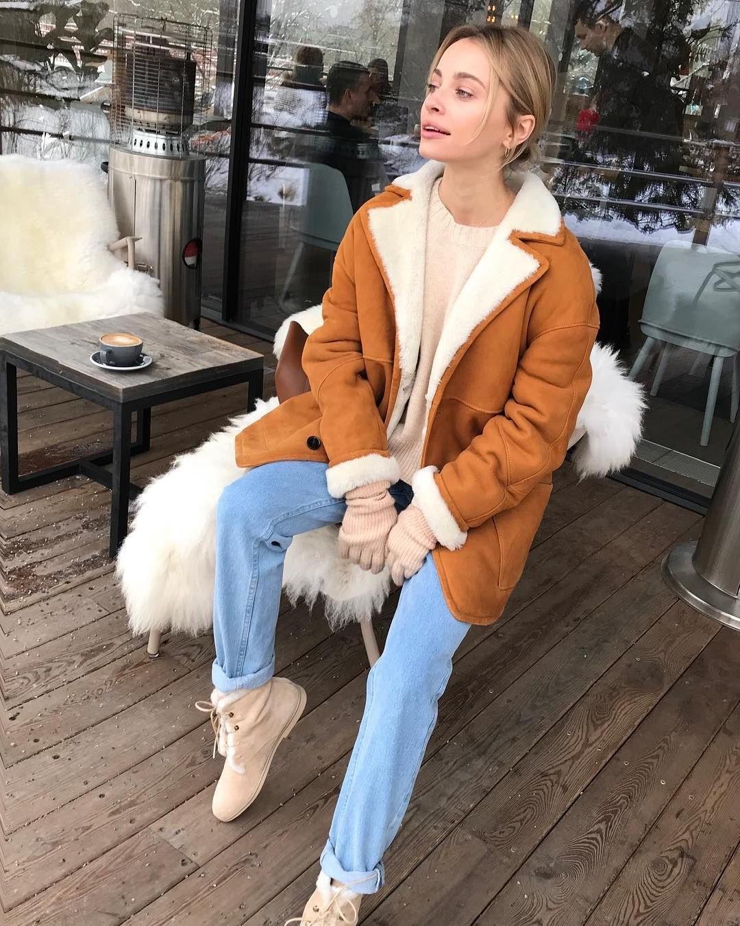 Faux shearling | 10 Coolest Winter Coat Trends | Her Beauty