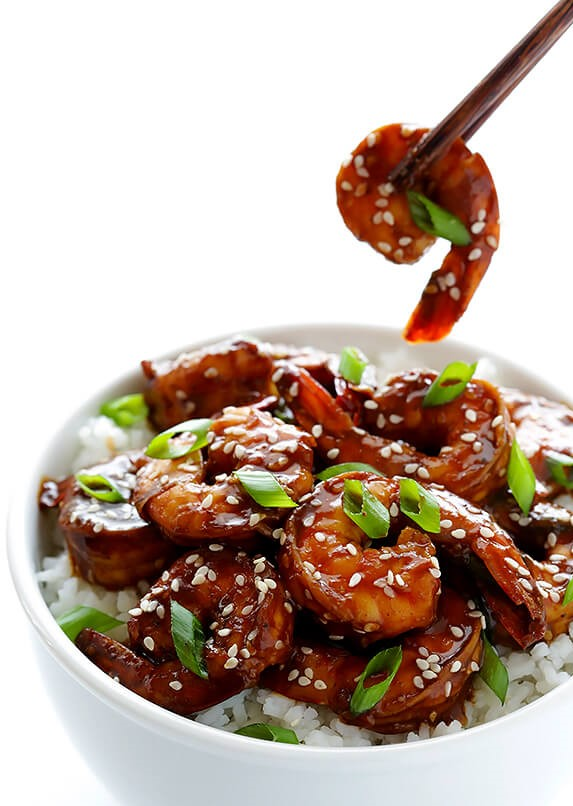 Easy Hoisin Shrimp | 12Easy But Delicious Shrimp Recipes | Her Beauty