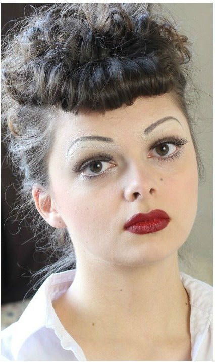 I love Lucy #2  |  11 Creepy and Cool Halloween Makeup Ideas to Try This Year |  HerBeauty