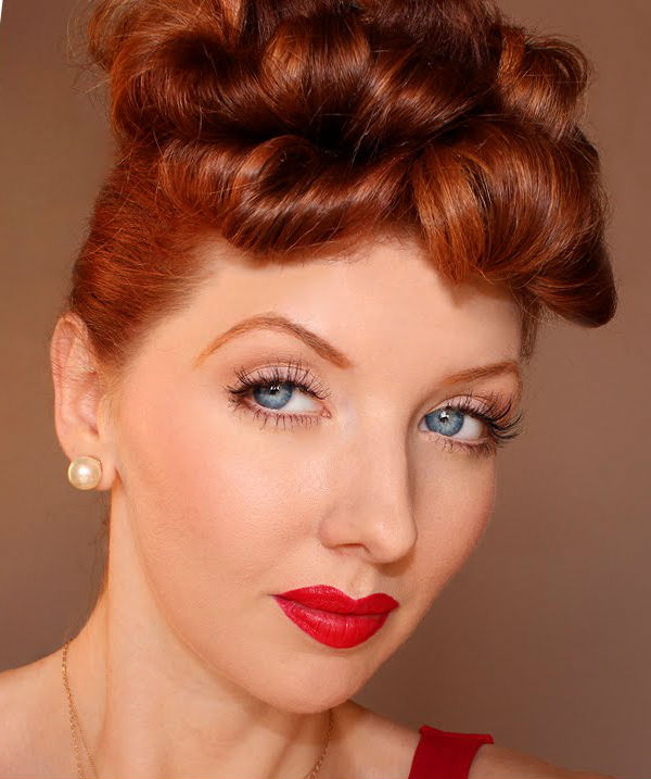 I love Lucy #1  |  11 Creepy and Cool Halloween Makeup Ideas to Try This Year |  HerBeauty