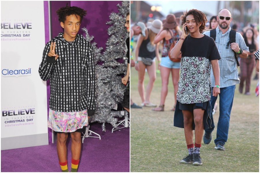 Jaden Smith #2 | Fashion Won't Be Genderless Until Men Wear Skirts | HerBeauty