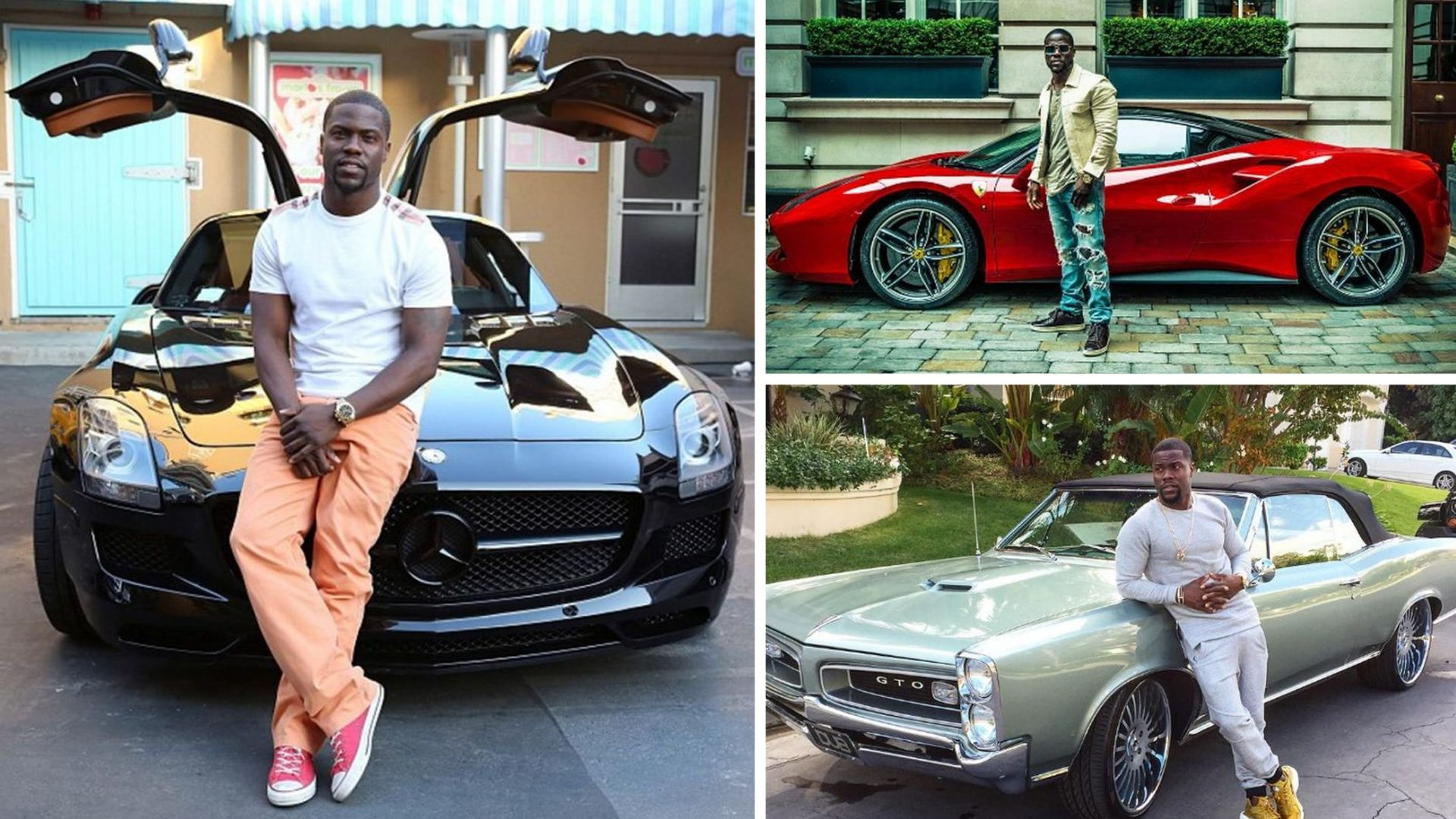 Kevin Heart's cars | 15 Kevin Hart Facts That Will Surprise You | Her Beauty