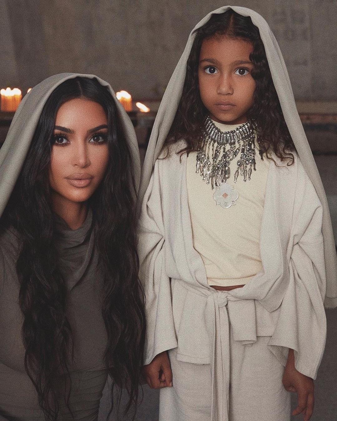 Kim Kardashian And Her Kids Baptized In Armenian Church #6 | Her Beauty