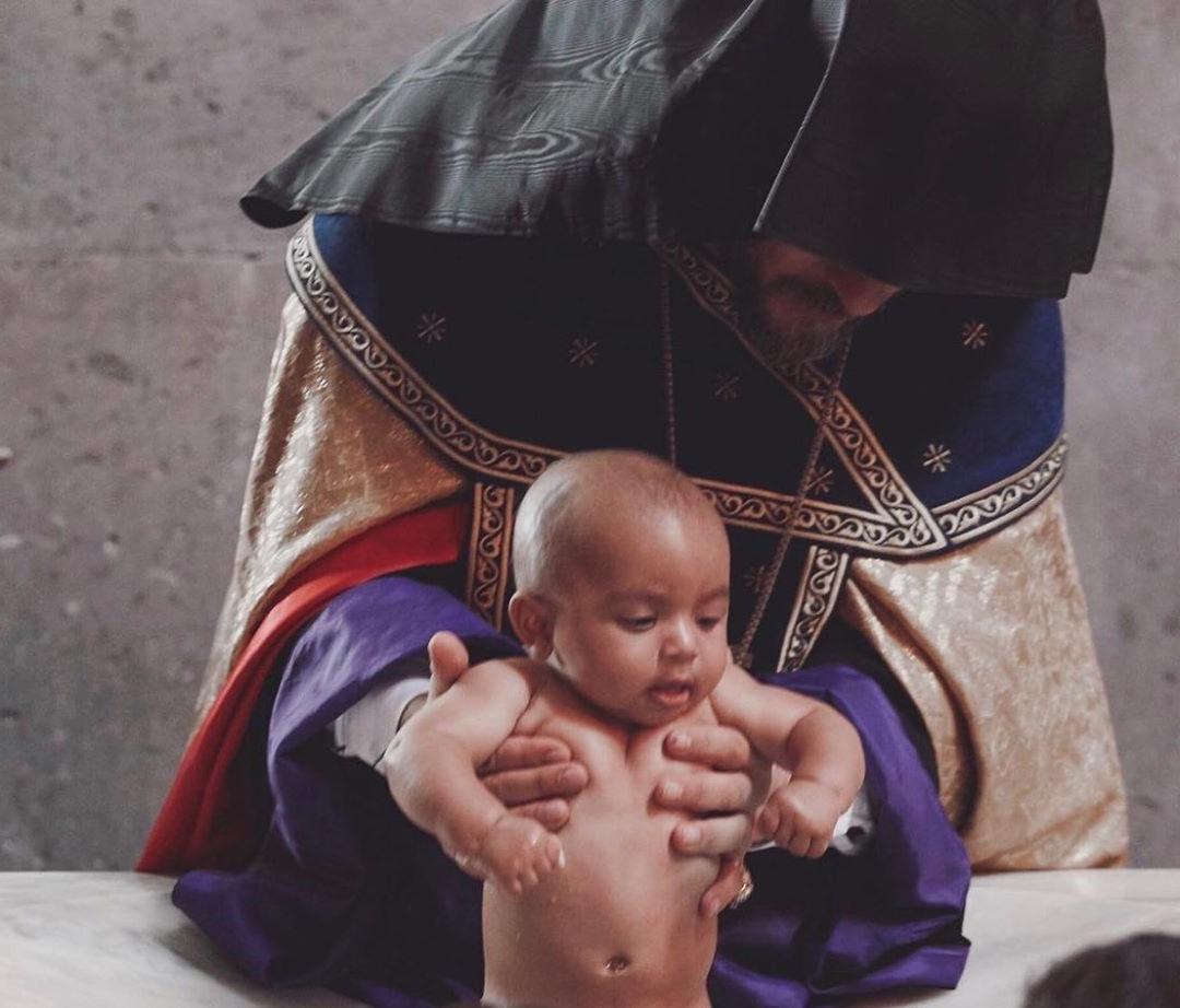 Kim Kardashian And Her Kids Baptized In Armenian Church #4   Her Beauty