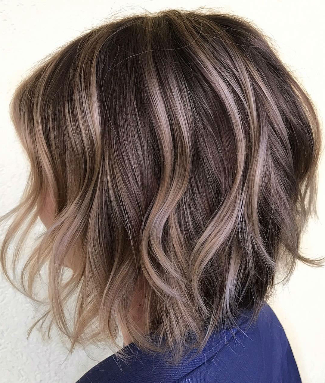 Layered bob | Short Hairstyles For Women Over 50 | Her Beauty