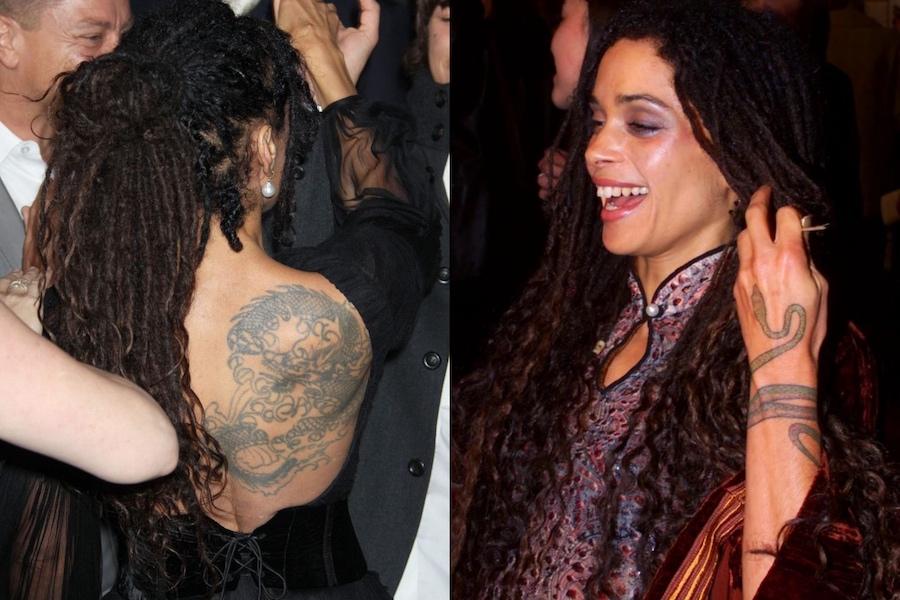 Lisa Bonet's Tattoos  | 8 Conundrums Of Lisa Bonet | HerBeauty