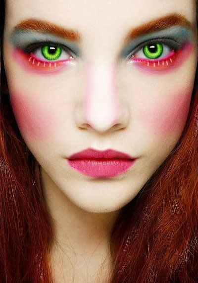 Mad Hatter #1  |  11 Creepy and Cool Halloween Makeup Ideas to Try This Year |  HerBeauty