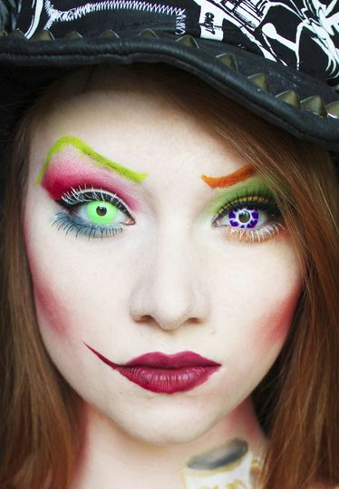 Mad Hatter #2  |  11 Creepy and Cool Halloween Makeup Ideas to Try This Year |  HerBeauty