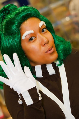 Oompa Loompa  #1 |  11 Creepy and Cool Halloween Makeup Ideas to Try This Year |  HerBeauty
