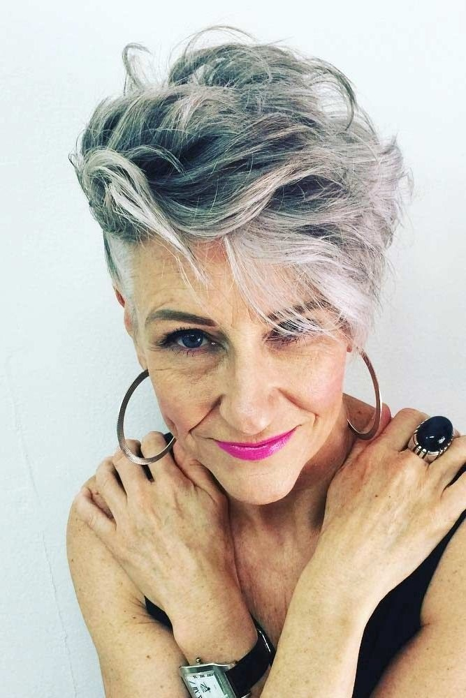 Short undercut pixie | Short Hairstyles For Women Over 50 | Her Beauty