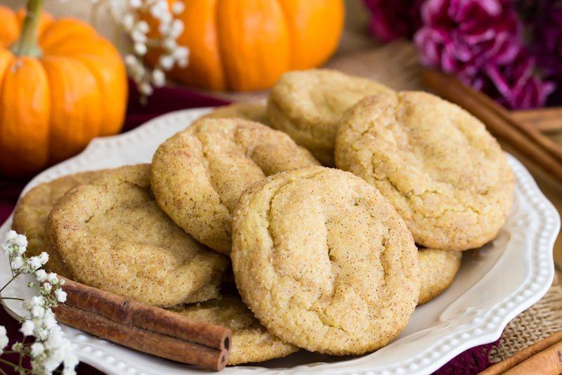 Pumpkin snickerdoodles | 15 Easy Halloween Cookie Ideas | Her Beauty