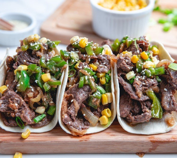 Korean Beef Bulgogi Tacos | 10 Best Movie Night Recipes | Her Beauty