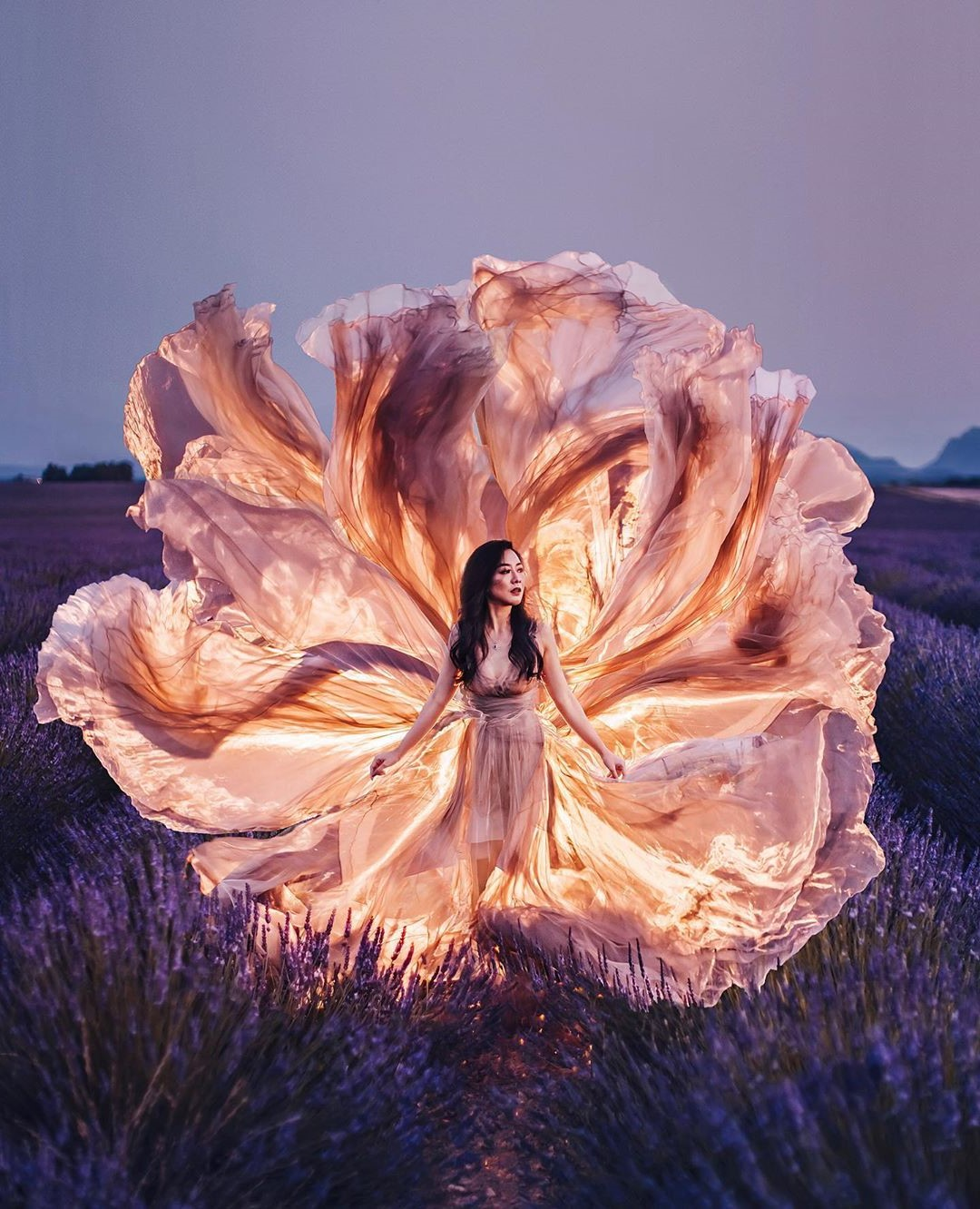 Photographer Shoots Dreamy Gowns Against Jaw-Dropping Scenery #10 | Her Beauty