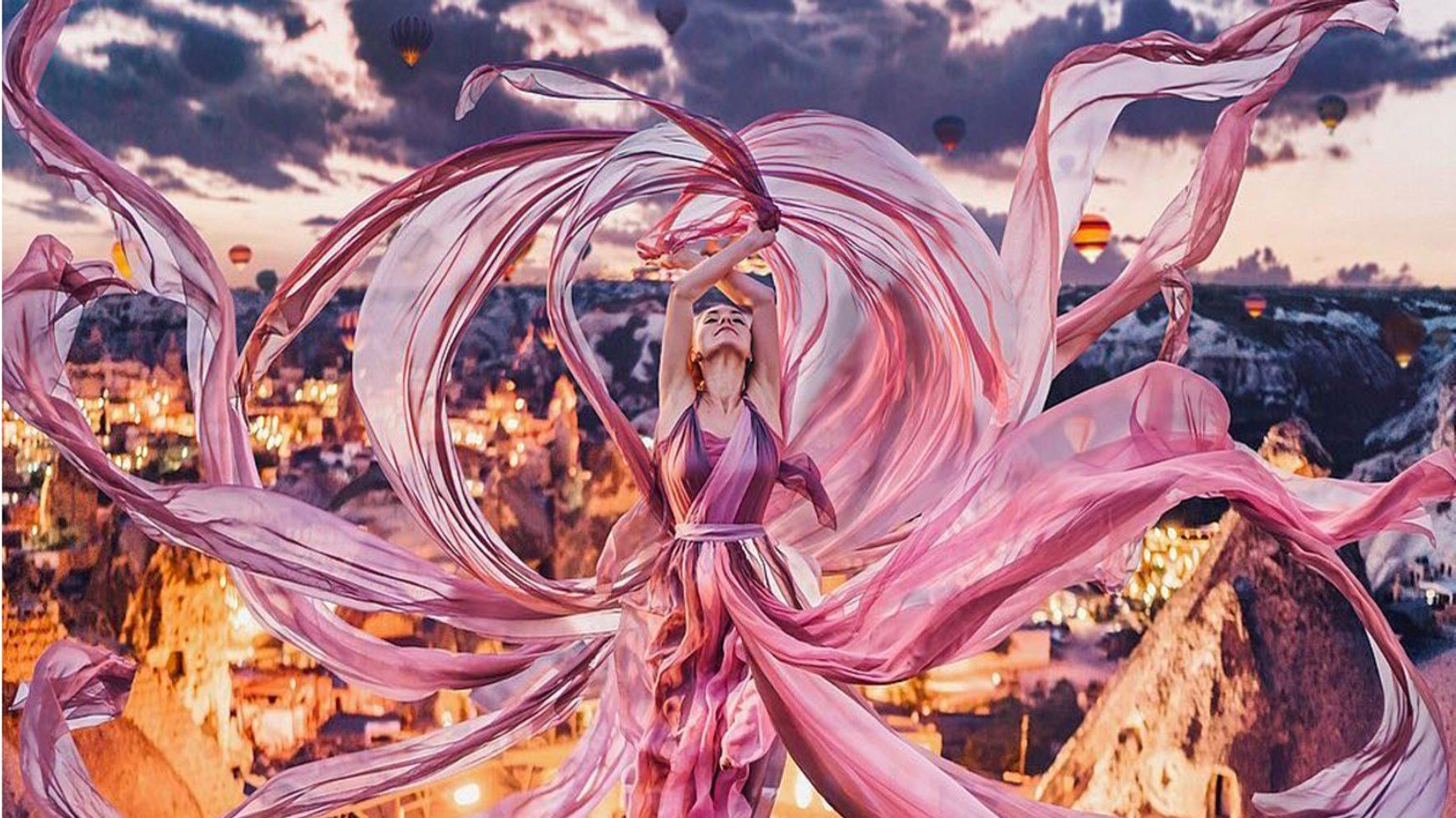 Photographer Shoots Dreamy Gowns Against Jaw-Dropping Scenery | Her Beauty