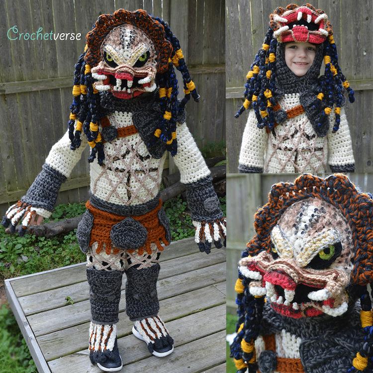 Stephanie Pokorny, aka Crochetverse | Mom Crochets Incredibly Elaborate Pop Culture Costumes | Her Beauty