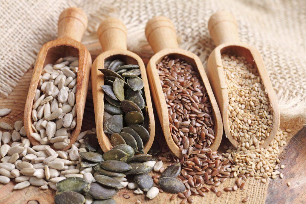 Семена   Топ-10 продуктов с высоким содержанием клетчатки   Her Beauty