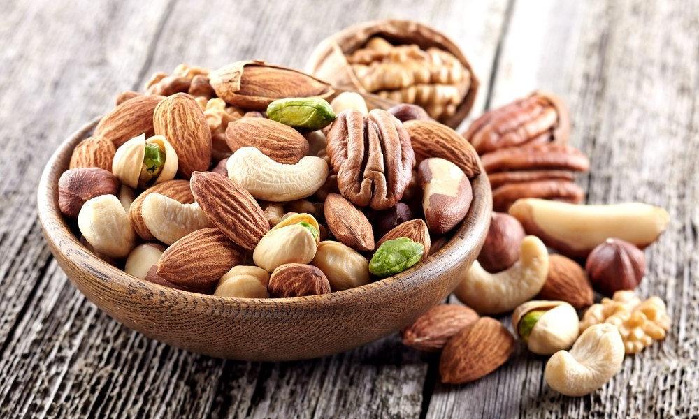 Орехи   Топ-10 продуктов с высоким содержанием клетчатки   Her Beauty