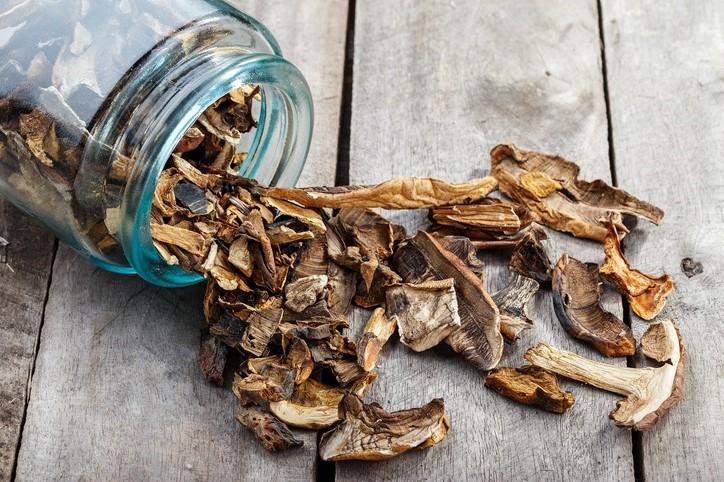 Сушеные грибы   Топ-10 продуктов с высоким содержанием клетчатки   Her Beauty