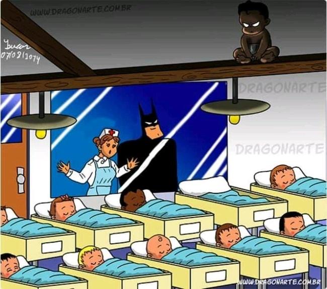 Baby Damien    What If Marvel and DC Superheroes Had Kids   Brain Berries