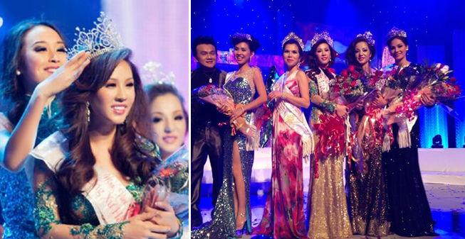 Hoa hậu Thu Hoài đăng quang Hoa hậu Phu nhân người Việt toàn cầu 2012 | Những hình ảnh ấn tượng của hoa hậu Thu Hoài | Her Beauty