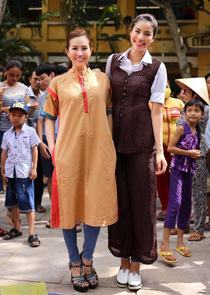 Thu Hoài tham gia từ thiện 2015  | Những hình ảnh ấn tượng của hoa hậu Thu Hoài | Her Beauty